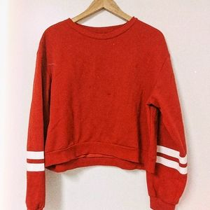 Red Sweatshirt.